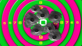 bullet target - motion graphic