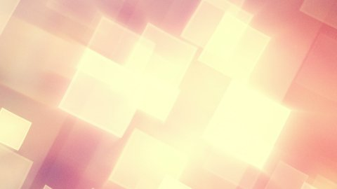 warm shining squares loop - stock footage