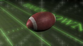 American Football Touchdown HD - motion graphic