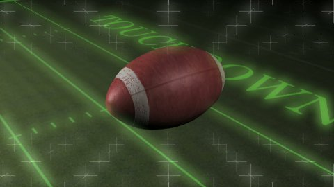 American Football Touchdown HD - stock footage
