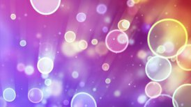 delicate circle bokeh lights seamless loop background - motion graphic
