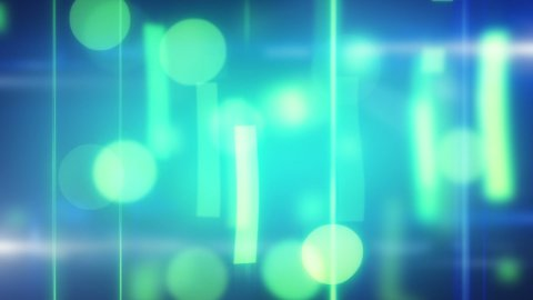 cyan blue soft loop background - stock footage