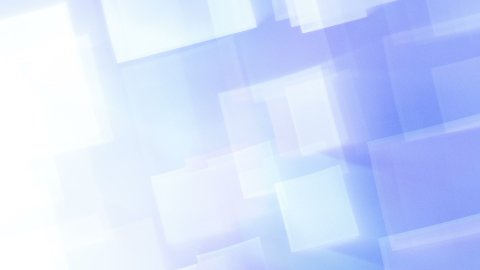 blue shining squares loop - stock footage