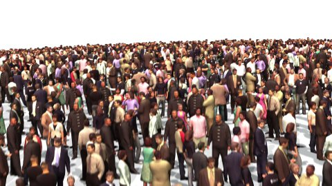 People of United States of America - stock footage