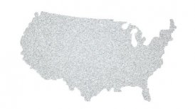 People of USA - motion graphic