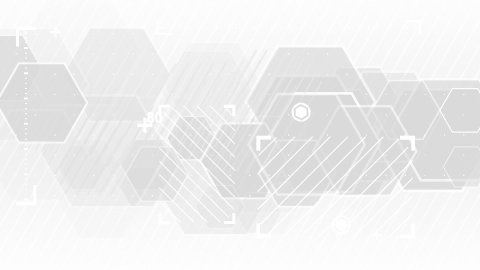 gray abstract technology loop background - stock footage