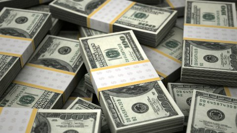 Billion Dollars - stock footage