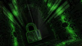 Cyber Security Background - motion graphic
