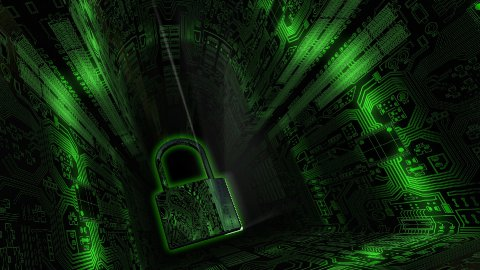 Cyber Security Background - stock footage