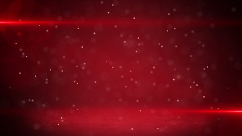 red light beams and particles loopable background - stock footage