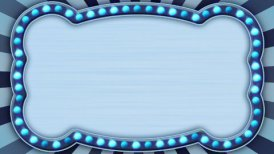 flash light blue marquee loop - motion graphic