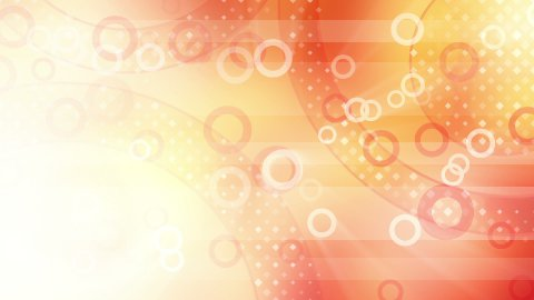 red shiny circles loop - stock footage