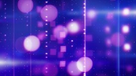 shiny blue magenta tech loopable background - motion graphic