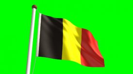 Belgium Flag - motion graphic