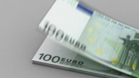 Counting Euro - editable clip, motion graphic, stock footage