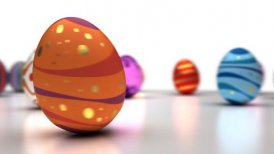 Easter Eggs Dancing - motion graphic