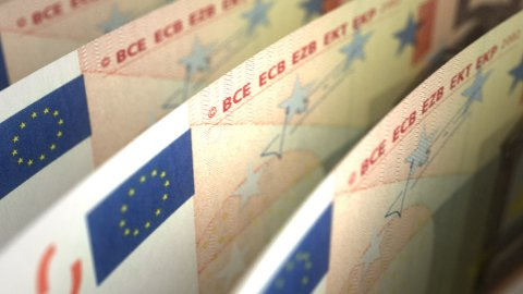 Euro (seamless) - stock footage