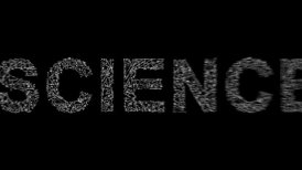 science word concept - editable clip, motion graphic, stock footage