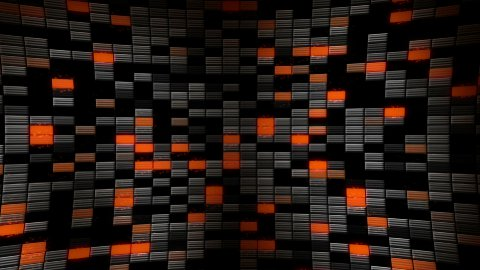rectangle blocks loopable backgrounds - stock footage
