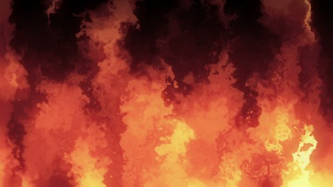 Fire - stock footage