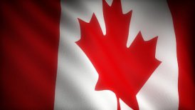 Flag of Canada - motion graphic