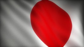 Flag of Japan - motion graphic