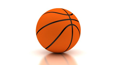 Basketball - stock footage