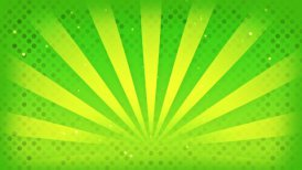 bright green rays loop - motion graphic
