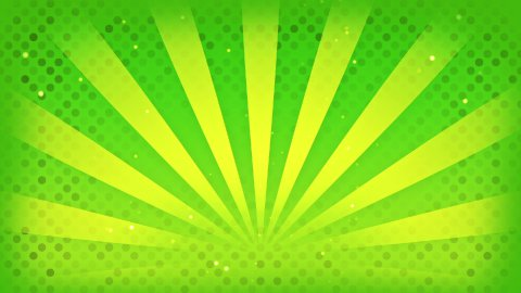 bright green rays loop - stock footage