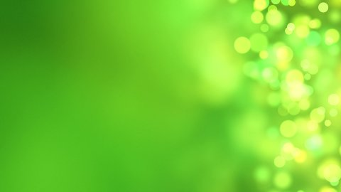 loopable abstract background green bokeh circles - stock footage