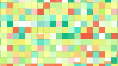 colorful tiles loopable backgrounds - stock footage