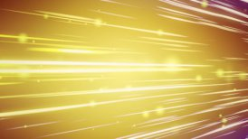 lines and blurred circles yellow loop background - motion graphic