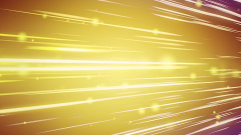 lines and blurred circles yellow loop background - stock footage
