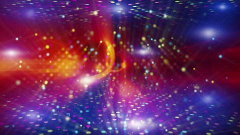 shiny disco abstract loopable background - stock footage