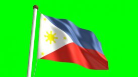 Philippines flag - motion graphic