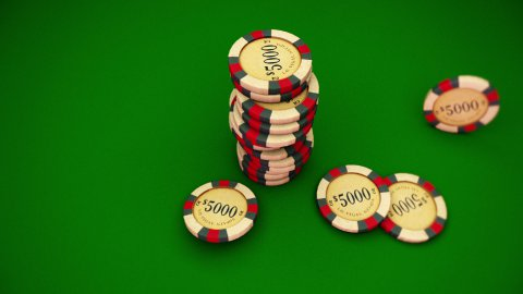 Casino Series Coins - stock footage
