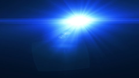 Cop Lights - stock footage
