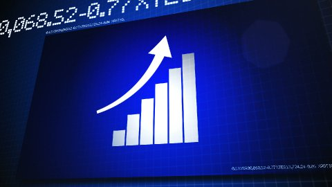 Finance Bar - stock footage