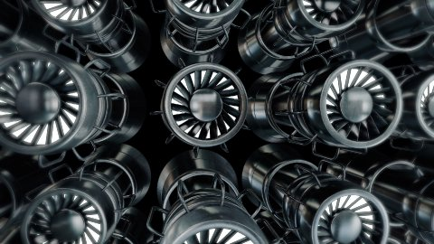 Dynamic Engine - stock footage