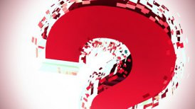 Question Mark - motion graphic