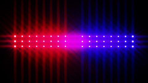 Cop Lights 2 - stock footage