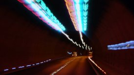 Tunnel Timelapse - motion graphic