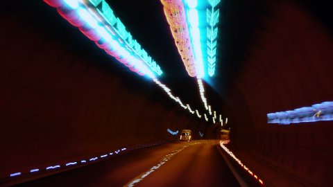Tunnel Timelapse - stock footage