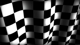 Checkerflag - motion graphic