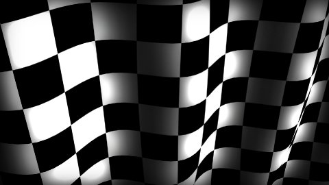 Checkerflag - stock footage