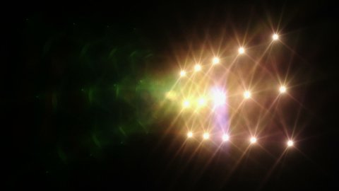 Lights Red - stock footage