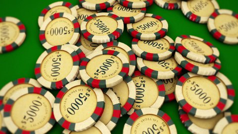 Casino Series Coins 2 - stock footage