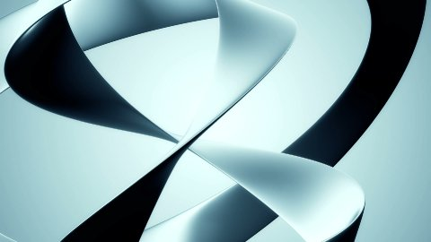 Abstract Sweep Blue - stock footage