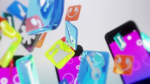 Smart Phone White - stock footage