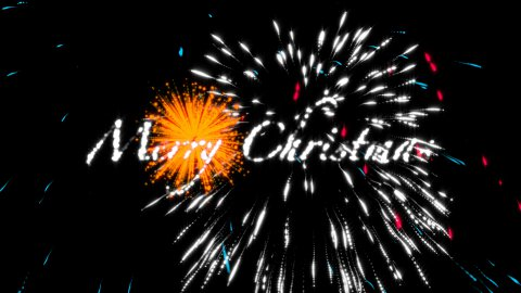 Merry Fire - stock footage